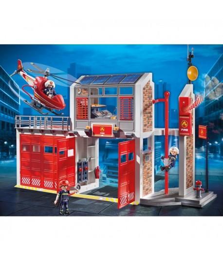 Playmobil Grande centrale dei vigili del fuoco 9462