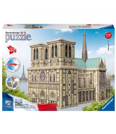 Puzzle Ravensburger 3D Maxi Notre Dame 12523