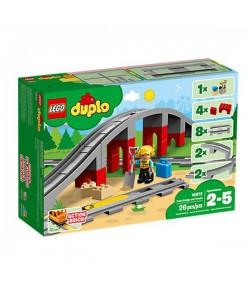 Lego Ponte e binari ferroviari Duplo 10872