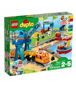 Lego Il grande treno merci Duplo 10875