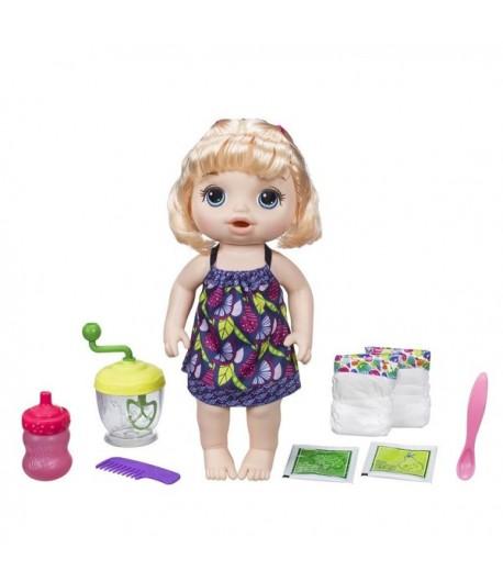 Baby Alive bambola Baby pappa bionda Sweet Spoonfuls Hasbro E0586