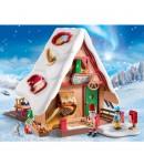Playmobil Il forno di Babbo Natale con stampi per biscotti 9493