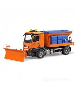 Bruder MB Arocs camion spazzaneve e spargisale 03685