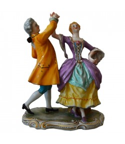 Statuina Gruppo La Danza Richard Ginori 14-5952