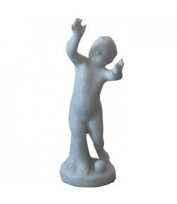 Puttino Richard Ginori con braccia alzate bianco 14-5790