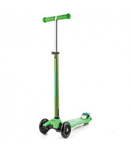 Monopattino Maxi MICRO deluxe verde 56074 portata 70 kg. dai 6 a 12 anni