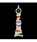 Orologio da parete L'Oca Nera SMART CITY grande 1TF007