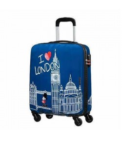 Valigia American Tourister Disney Legends  4 ruo.cm 55 Mickey London 19C *61 019