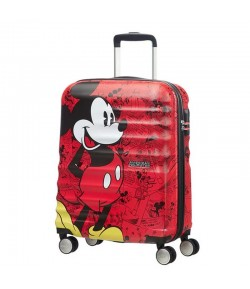 Trolley American Tourister Disney Wavebreaker 4 ruote 55 Mickey Red 31C *20 001