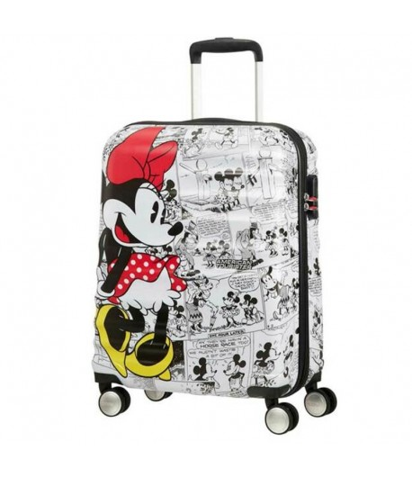 Trolley American Tourister Disney Wavebreaker 4 ruote55 Minnie White 31C *25 001