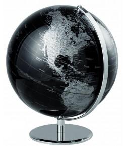 Mappamondo Mascagni nero diametro cm 30 I110