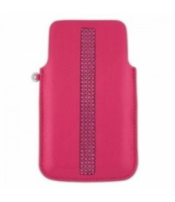 Custodia iPhone 4 o 4S Swarovski PLAYTIME FUCHSIA  1193154