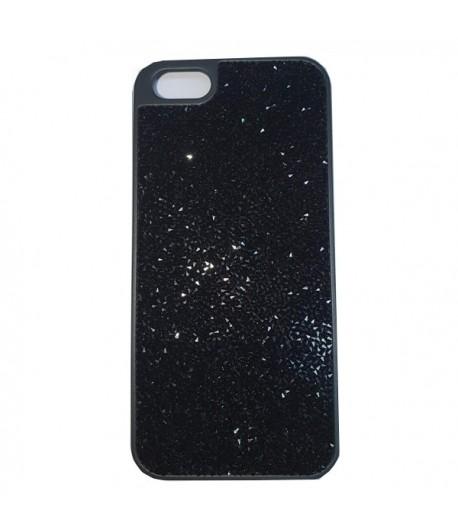 Custodia iPhone 5 o 5S Swarovski GLAM ROCK BLACK  5126491