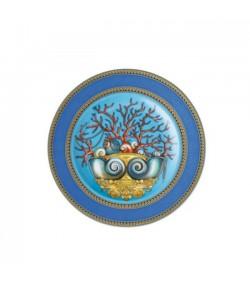 Piatto piano Les Trésors de la Mer Versace Rosenthal 18 cm  19300 409608 10218