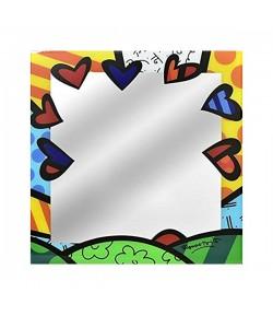 Specchio da parete Romero Britto New Day 30 cm  334293