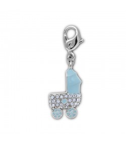 Charm Swarovski BABY BOY CARRIAGE  1109766