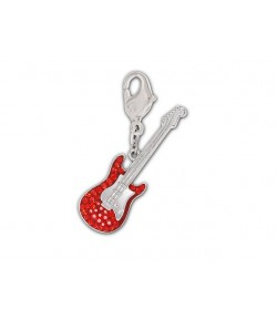 Charm Swarovski RED GUITAR  1161107