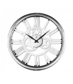 Orologio da Parete Lowell al quarzo in Metallo Scheletrato 45 cm  21459