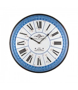 Orologio da parete Lowell al quarzo in Metallo Numeri Romani 55 cm  21515