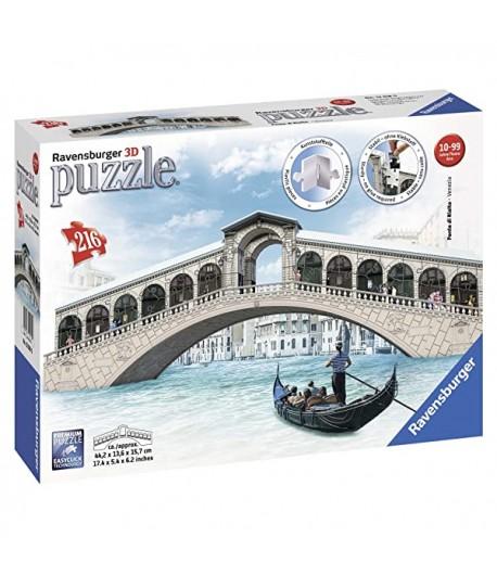 Puzzle Ravensburger 3D Midi Ponte di Rialto 12518