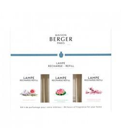 Lampe Berger triopack poesy 2019 3 x 180 ML  23963