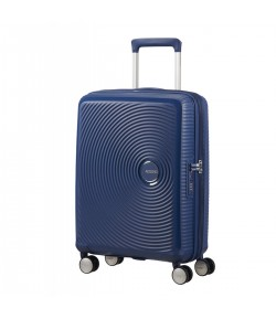 Trolley American Tourister Soundbox 4 ruote cm 55 Blu Navy 32G *41 001