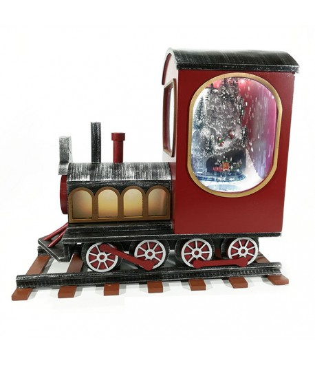 Locomotiva natalizia General Trade con luci suoni e movimento  482103
