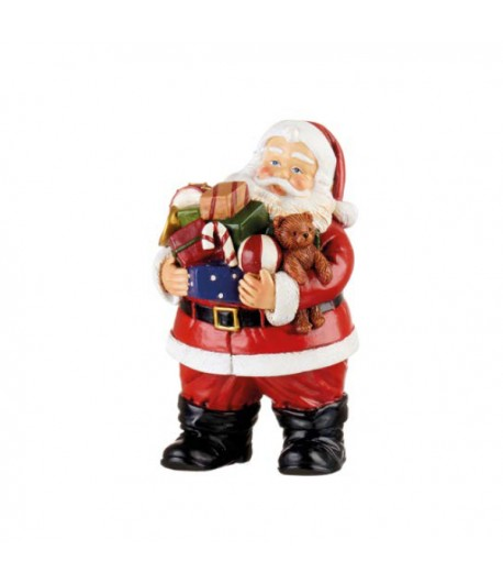 Babbo Natale L'Oca Nera con trombetta cm 9x10x15h  1XM527.11