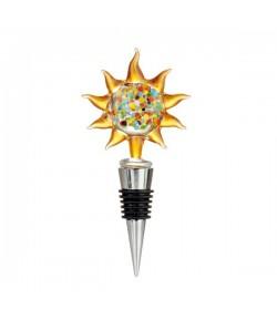 Tappo bottiglia L'Oca Nera sole cm 13 h  1XM535.14