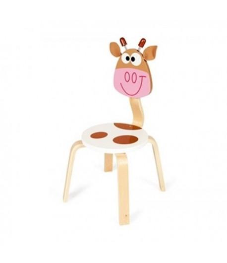 Sedia in legno mucca Marie DAM 8182303