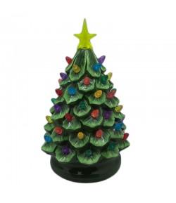 Albero Natale Timstor verde con led h 26 cm  206678