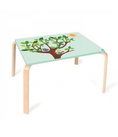 Tavolo in legno rettangolare gufo Lou DAM 6182323