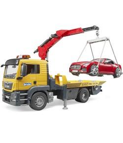 Bruder MAN TGS trasporto Roadster 3750