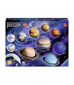 Puzzle 3D Il sistema planetario Ravensburger 11668