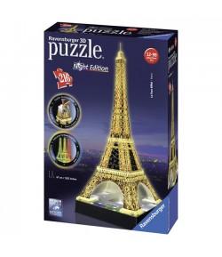 Puzzle 3D Torre Eiffel Ravensburger Night Edition 12579