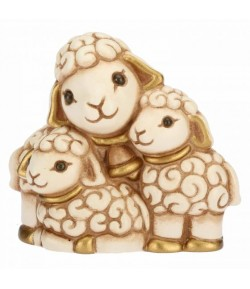 Gruppo pecore Thun Presepe Classico bianco  S3039A83