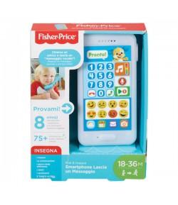 Fisher Price Smartphone lascia un messaggio Mattel FPR15