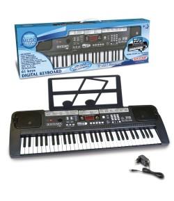 Bontempi tastiera digitale 61 tasti con USB 16 6110 passo medio