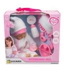 Coccole e Baci Bebè 40 cm con set pappa 83523