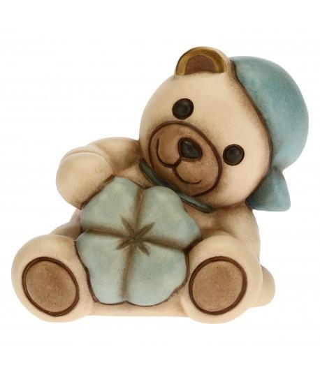 Teddy Thun con quadrifoglio blu  F2906H98B