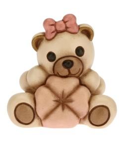Teddy Thun con quadrifoglio rosa  F2907H93B