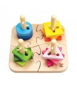 Puzzle creativo Hape E0411