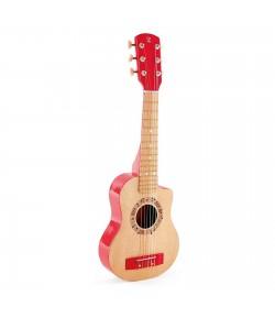Chitarra rosso fuoco Hape E0602