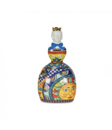 Bottiglia Olio Baci Milano Sicily blu 1lt   JOIL1.SIC03