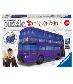 Puzzle 3D Ravensburger London bus Harry Potter 11158