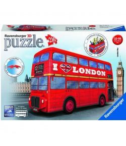 Puzzle 3D Ravensburger  London bus 12534