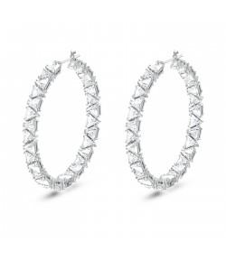 Orecchini Millenia Swarovski Hoop Triangle  5598343