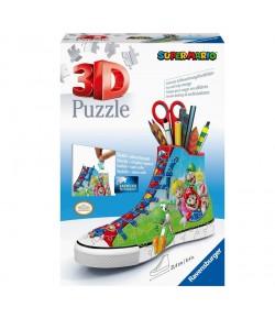 Puzzle 3D Shaped Sneaker Super Mario Ravensburger 11267