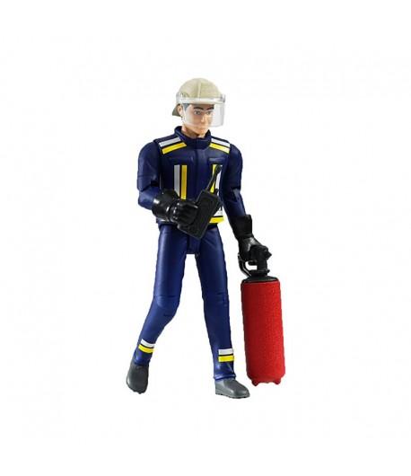 Bruder Bworld Pompiere con accessori 60100
