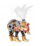 Elefante Miss Baba Tom's Drag cm 12 x 12  3003